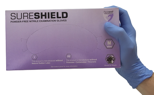 SureShield Nitrile Gloves